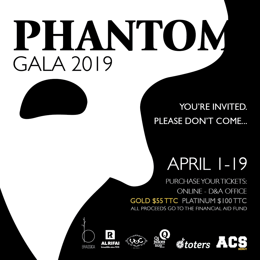 Phantom Gala Online Fundraising Dinner